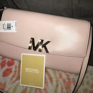 MICHAEL KORS clutch crossbody handbag